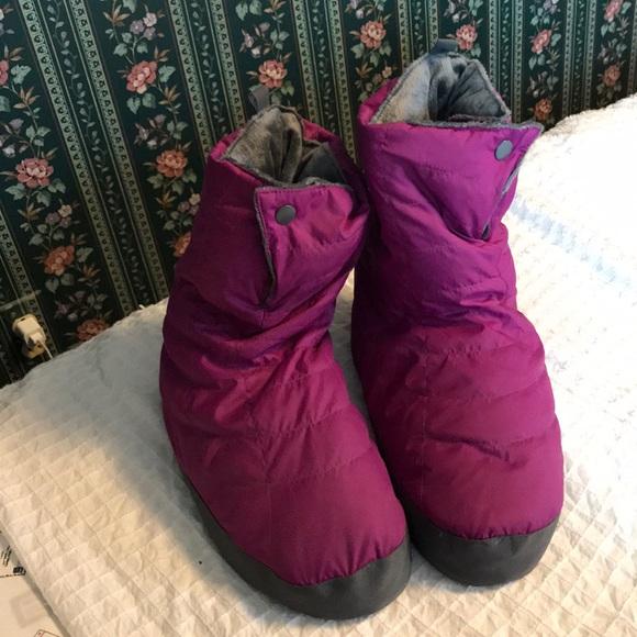Rei Goose Down Slipper Boots W Lxl New